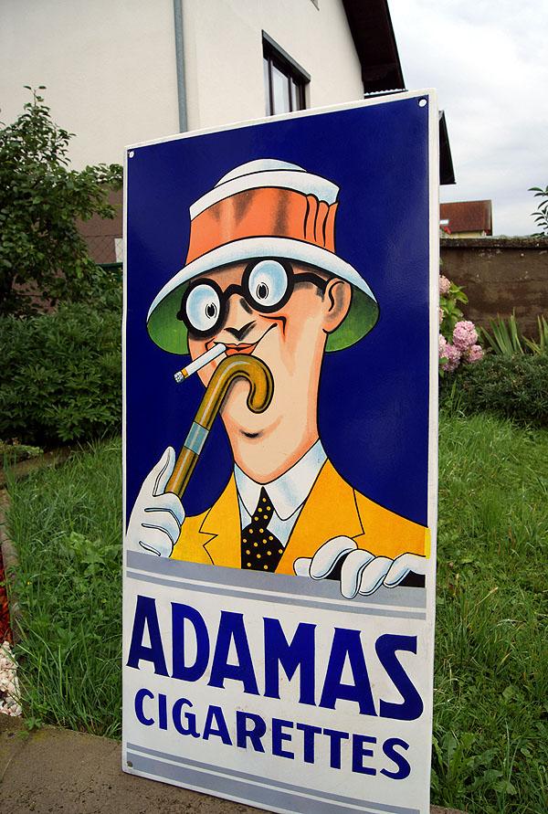 Adamas Cigarettes schildersammler